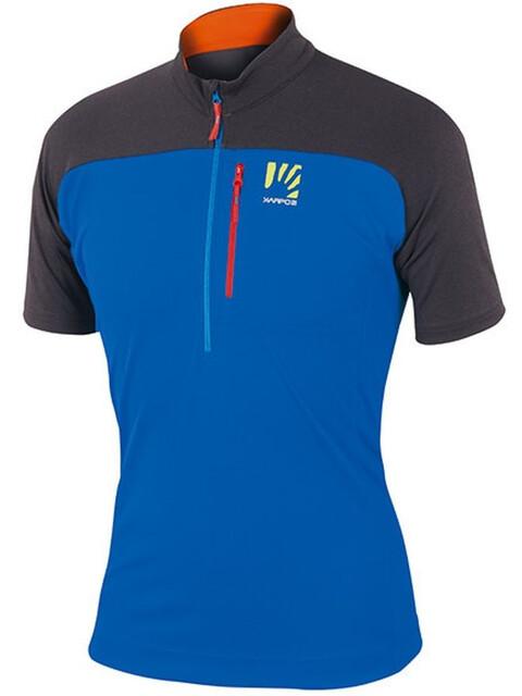 Karpos Roccia - Camiseta manga corta Hombre - gris/azul